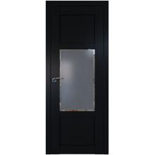 Межкомнатная дверь ProfilDoors 2.15U Square графит, графит Черный матовый