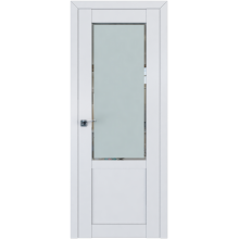 Межкомнатная дверь ProfilDoors 2.17U Square матовое, матовое, прозрачное