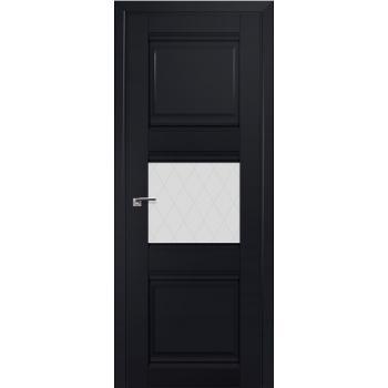 Межкомнатная дверь ProfilDoors 5U Черный матовый Ромб