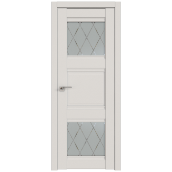 Межкомнатная дверь ProfilDoors 6U ДаркВайт Ромб