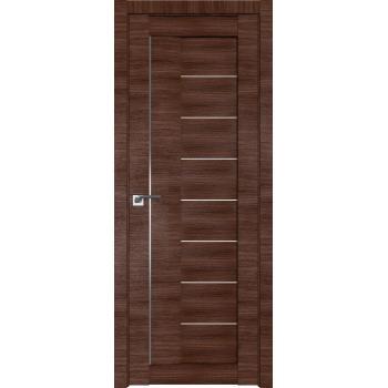 Межкомнатная дверь ProfilDoors 17X триплекс черный, триплекс белый