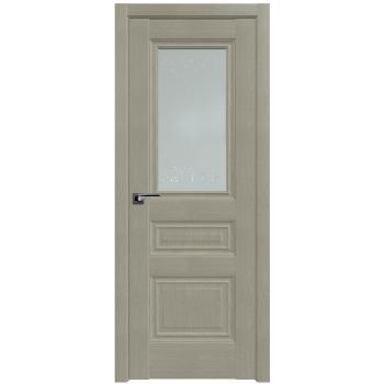 Межкомнатная дверь ProfilDoors 2.39X франческо кристал, графит
