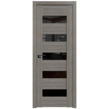 Межкомнатная дверь ProfilDoors 29X триплекс черный, триплекс белый