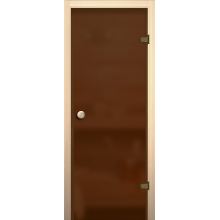 Дверь для сауны Бронза матовая