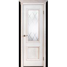 Межкомнатная дверь Юркас шпон Валенсия ш. ДО матовое с фр.№15