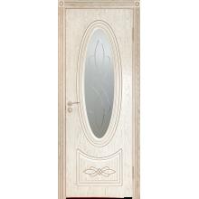 Межкомнатная дверь Юркас шпон Венеция-1 ДО матовое с фр.№20