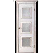 Межкомнатная дверь Юркас шпон Квадро-1 ДО матовое с фр.№10
