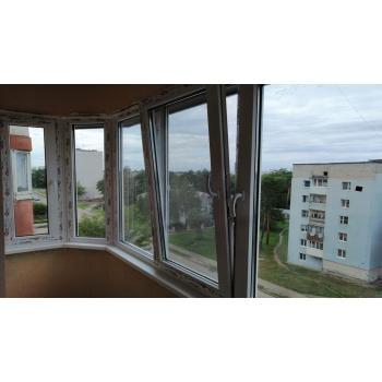 Балконная рама ПВХ Софьен Пример 1