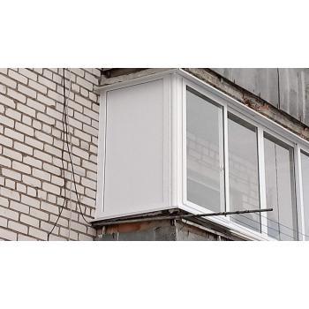 Балконная рама ПВХ Софьен Пример 2