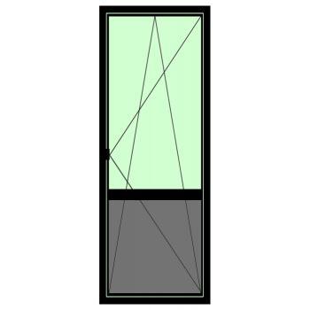 Дверь BRUSBOX Aero (60мм) 1800*500