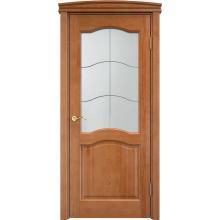 Межкомнатная дверь ПМЦ Ш7 ДО Орех 10% 600х2000
