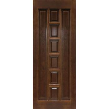 Межкомнатная дверь ПМЦ Ш11 ДГ Орех 10%, Коньяк 600х2000