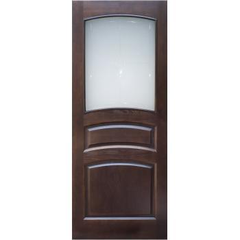 Межкомнатная дверь ПМЦ Ш16 ДО Коньяк 400х2000