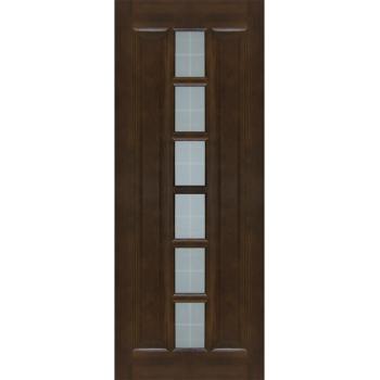Межкомнатная дверь ПМЦ Ш11 ДО Орех 10%, Коньяк 400х2000