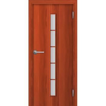 Межкомнатная дверь Unidoors Standart С2 итальянский орех / миланский орех