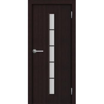 Межкомнатная дверь Unidoors Standart С2 венге / беловежский дуб