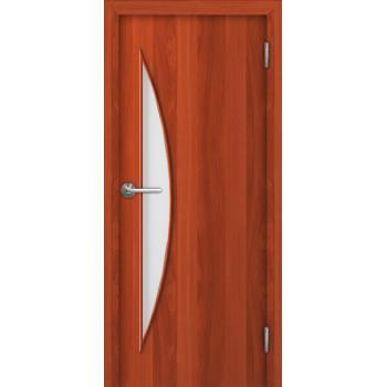 Межкомнатная дверь Unidoors Standart С5 итальянский орех / миланский орех