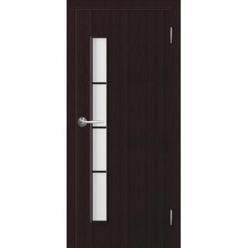 Межкомнатная дверь Unidoors Standart С11 венге / беловежский дуб