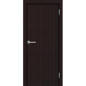 Межкомнатная дверь Unidoors Standart ДПГ венге / беловежский дуб