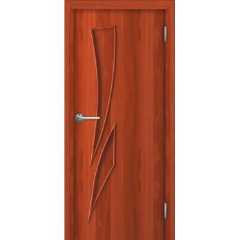 Межкомнатная дверь Unidoors Standart Г8 итальянский орех / миланский орех