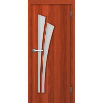Межкомнатная дверь Unidoors Standart С4 итальянский орех / миланский орех